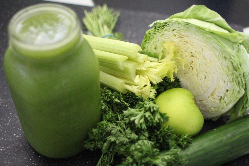 Groene groente smoothies